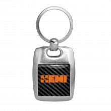 HEMI 426 in HEMI Carbon Fiber Backing Brush Metal Key Chain