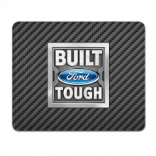 Ford Built Ford Tough Black Carbon Fiber Texture Graphic PC Mouse Pad