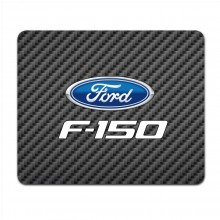Ford F-150 2009 to 2014 Black Carbon Fiber Texture Graphic PC Mouse Pad