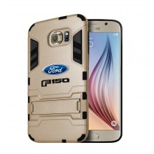 Ford F-150 2015 up Samsung Galaxy S6 Shockproof TPU ABS Hybrid Golden Phone Case