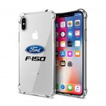 Ford F-150 iPhone X Clear TPU Shockproof Cell Phone Case