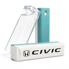 Honda Civic All-in-One Blue Wipe Navigation Screen Cleaner with Clear Cell Phone Stand