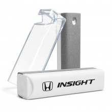 Honda Insight All-in-One Gray Wipe Navigation Screen Cleaner with Clear Cell Phone Stand