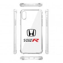 Honda Civic Type-R iPhone X Clear TPU Shockproof Cell Phone Case