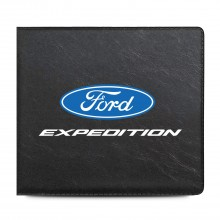 Ford Expedition Car Auto Insurance Registration Black PVC Document Holder Wallet