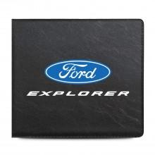 Ford Explorer Car Auto Insurance Registration Black PVC Document Holder Wallet