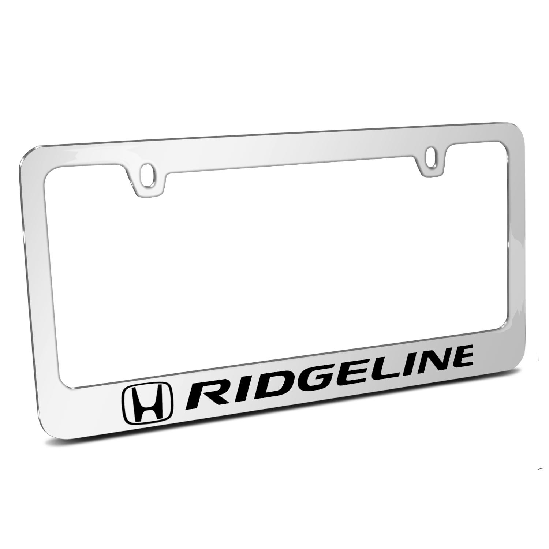 Honda Ridgeline Mirror Chrome Metal License Plate Frame