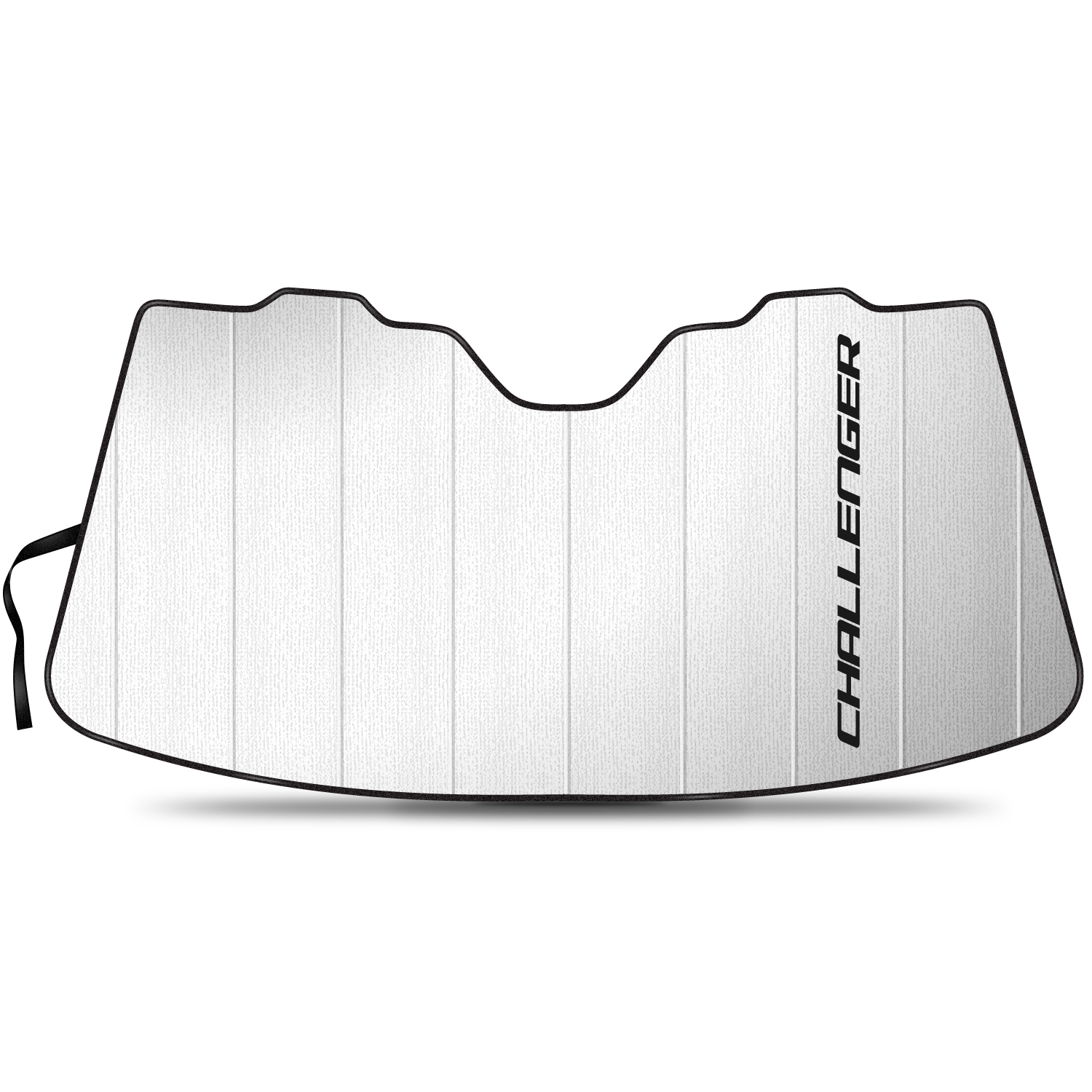 """Dodge Challenger 55-1/2""""x 27"""" Stand Up Universal Fit Auto Windshield Sun Shade"""