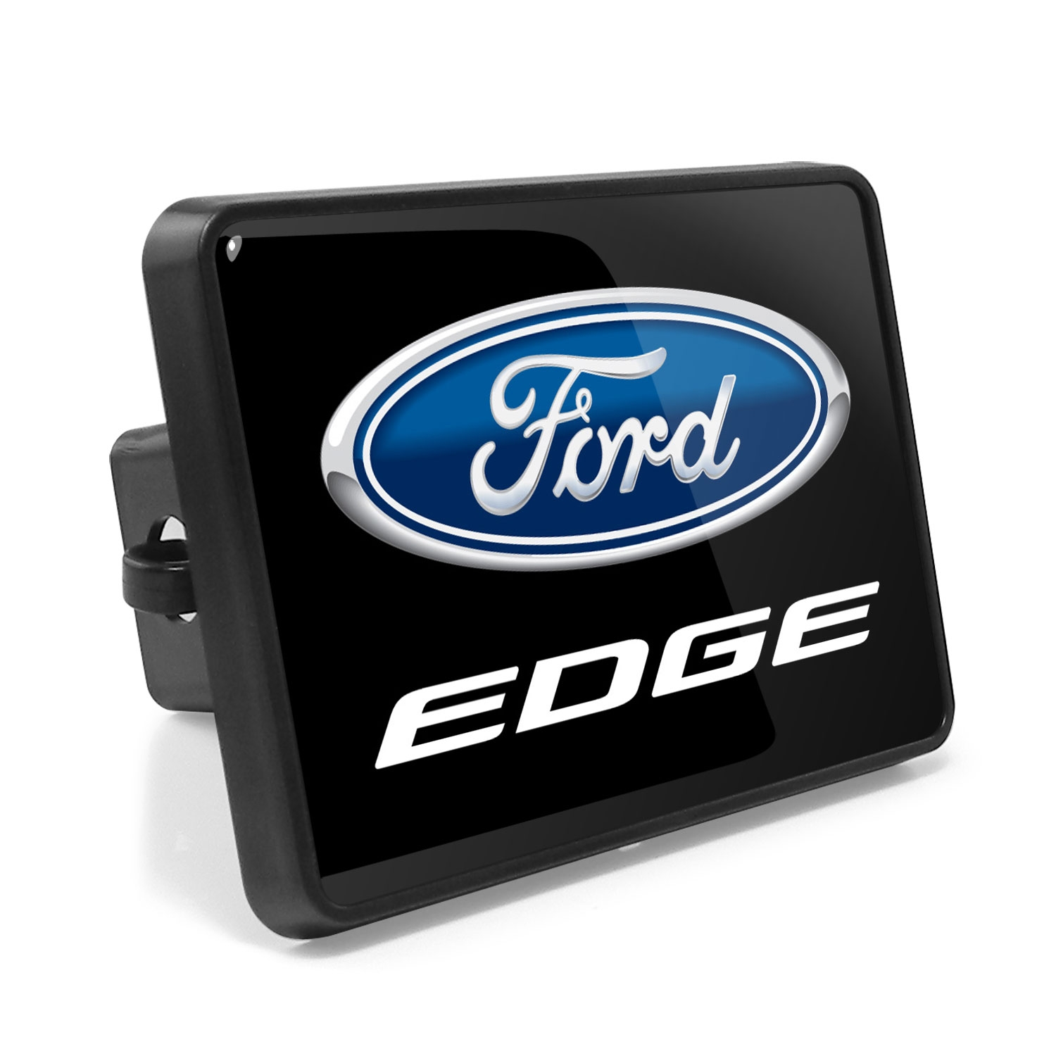 Ford Edge UV Graphic Metal Plate on ABS Plastic 2 inch Tow Hitch Cover
