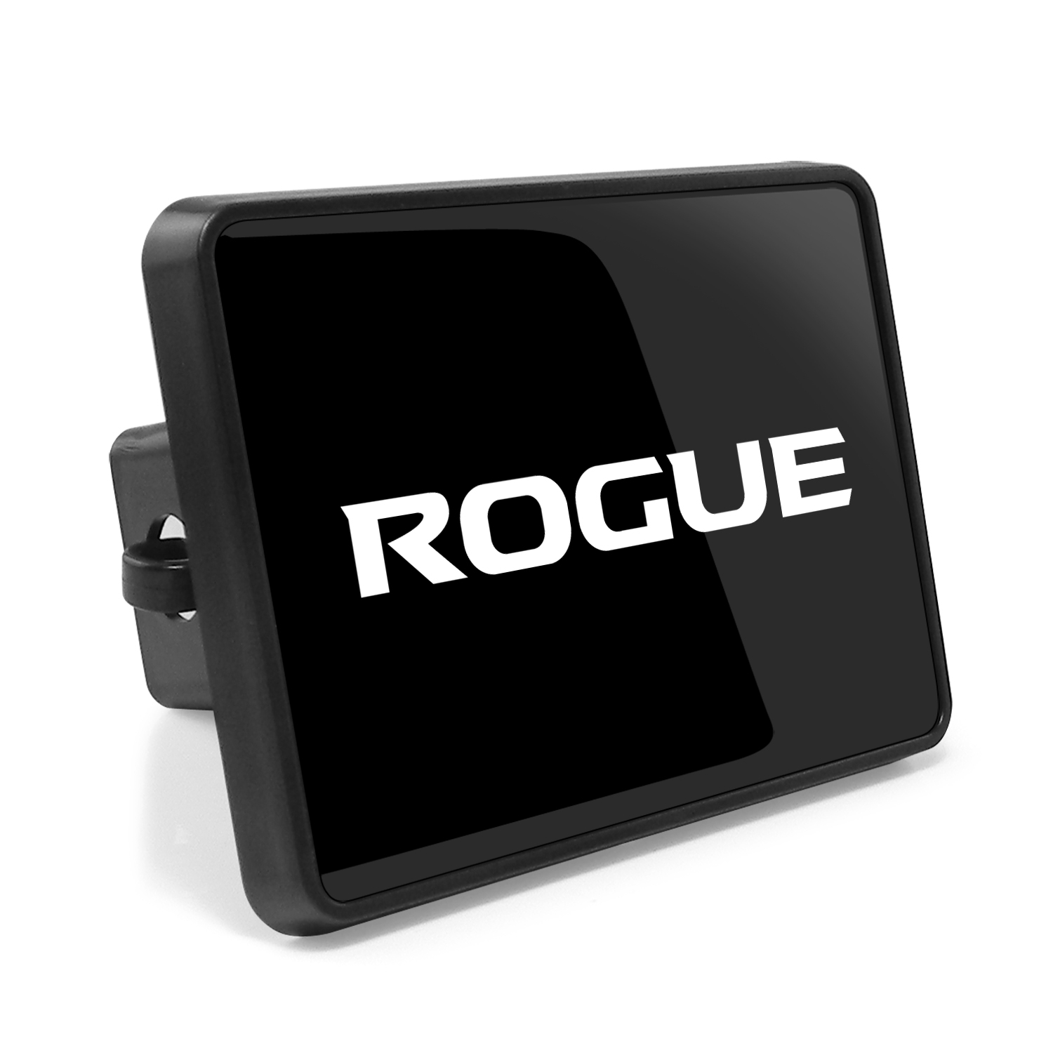 Nissan Rogue UV Graphic Black ABS Plastic 2 inch Trailer Hitch Cover