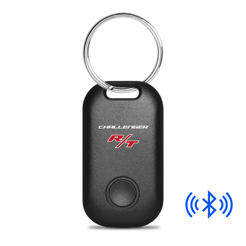 Dodge Challenger R/T Bluetooth Smart Key Finder Black Key Chain