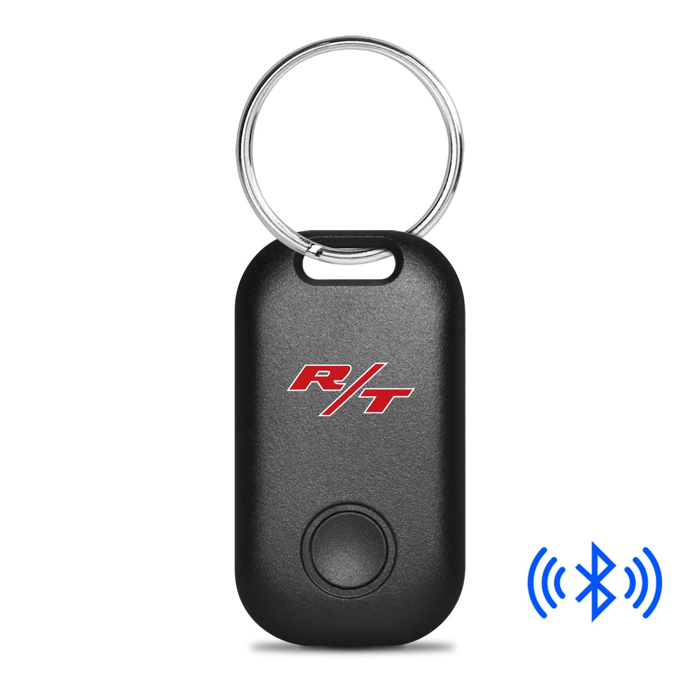 Dodge R/T Logo Bluetooth Smart Key Finder Black Key Chain