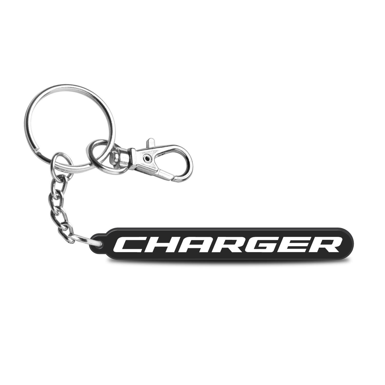 Dodge Charger Custom Laser Cut UV Full-Color Printing Acrylic Charm Key Chain