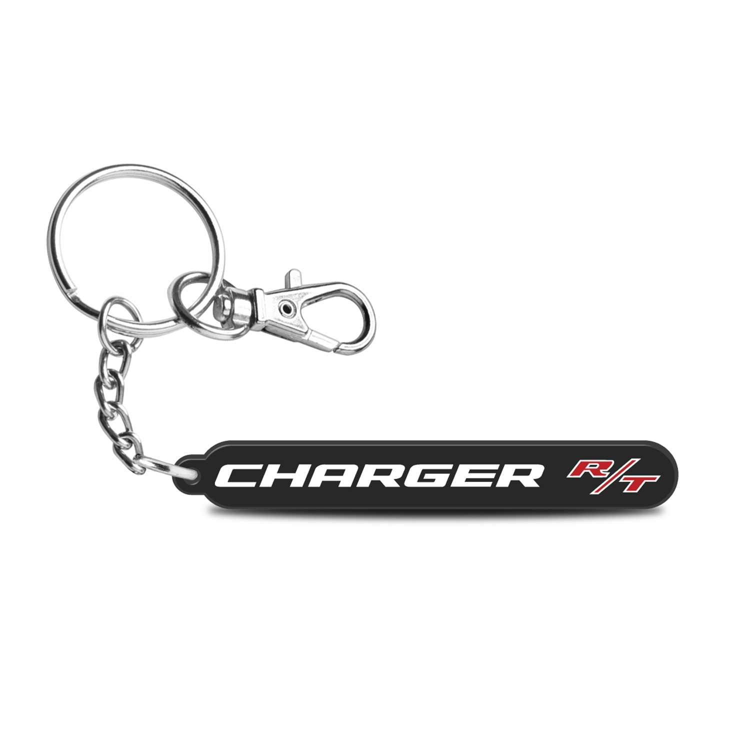 Dodge Charger R/T Custom Laser Cut with UV Full-Color Printing Acrylic Charm Key Chain