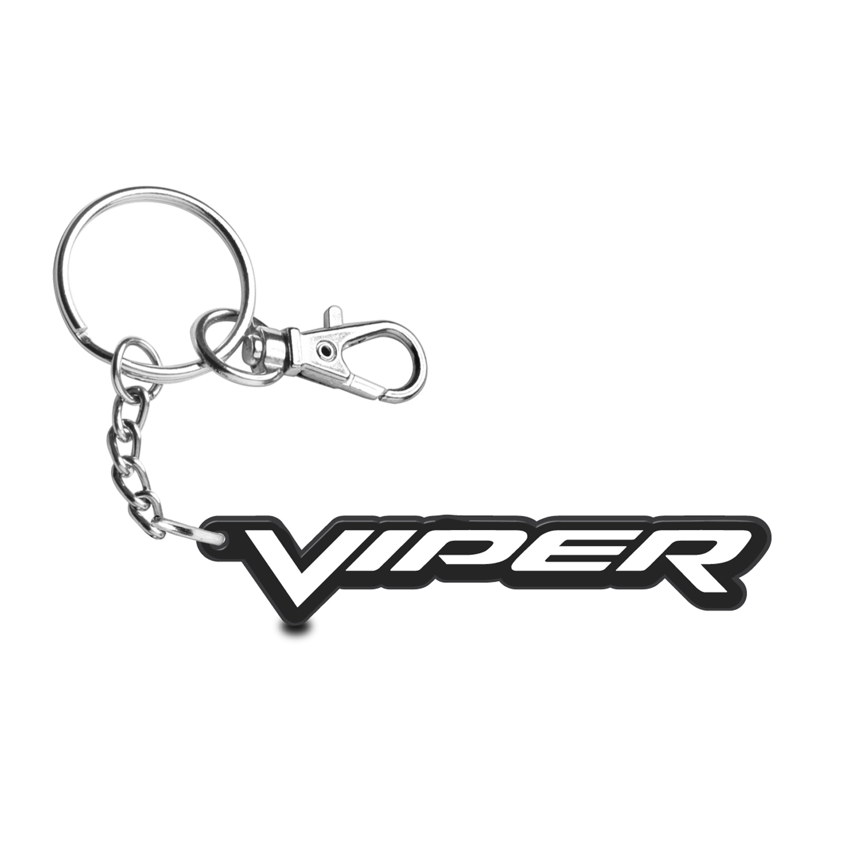 Dodge Viper Custom Laser Cut with UV Full-Color Printing Acrylic Charm Key Chain