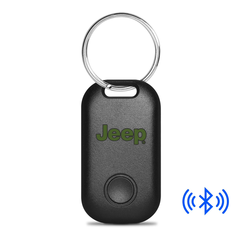 Jeep in Green Bluetooth Smart Key Finder Black Key Chain