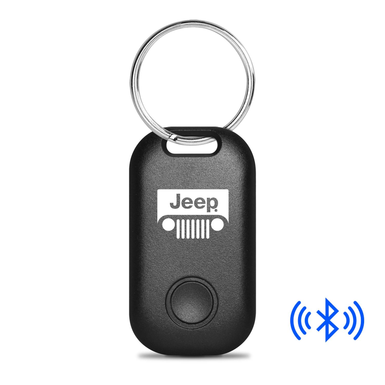 Jeep Grill Bluetooth Smart Key Finder Black Key Chain
