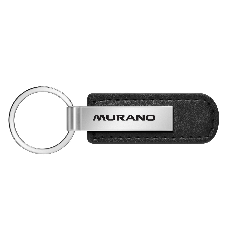 Nissan Murano Black Leather Strap Key Chain