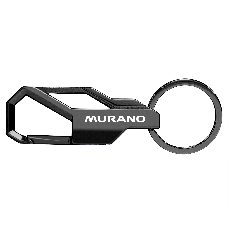 Nissan Murano Black Snap Hook Metal Key Chain