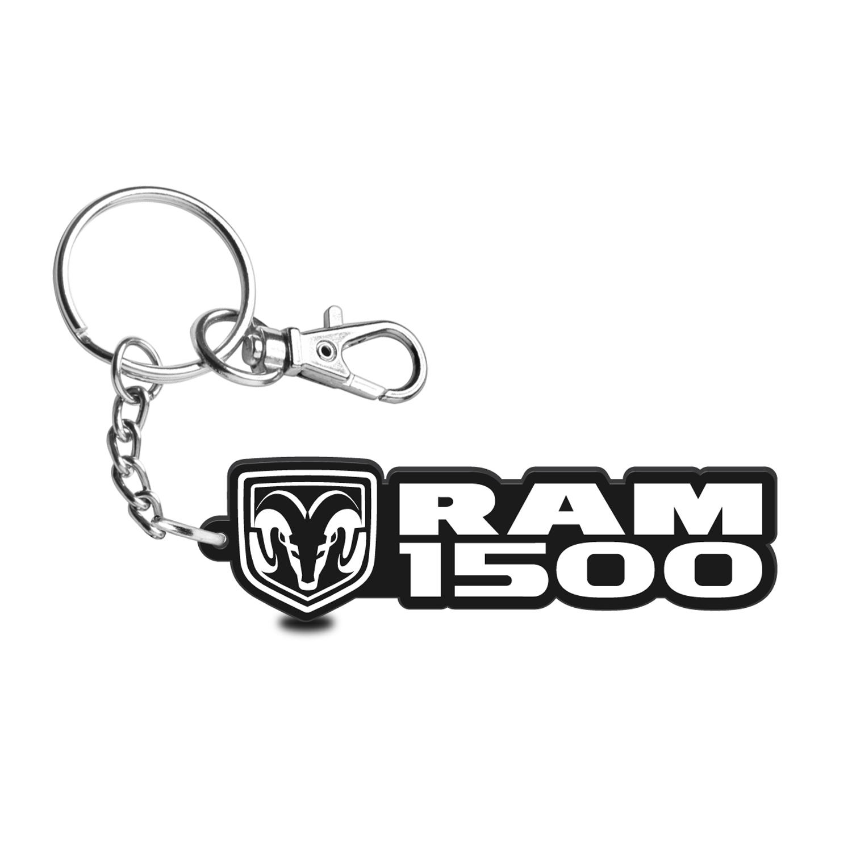 RAM 1500 Custom Laser Cut with UV Full-Color Printing Acrylic Charm Key Chain