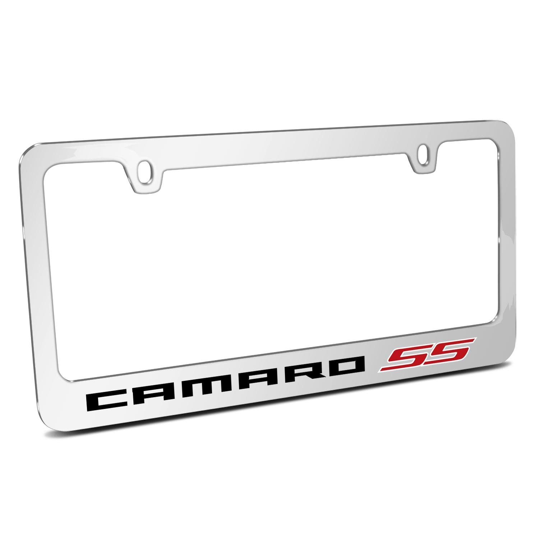 Chevrolet Camaro SS 2010  Chrome Metal License Plate Frame
