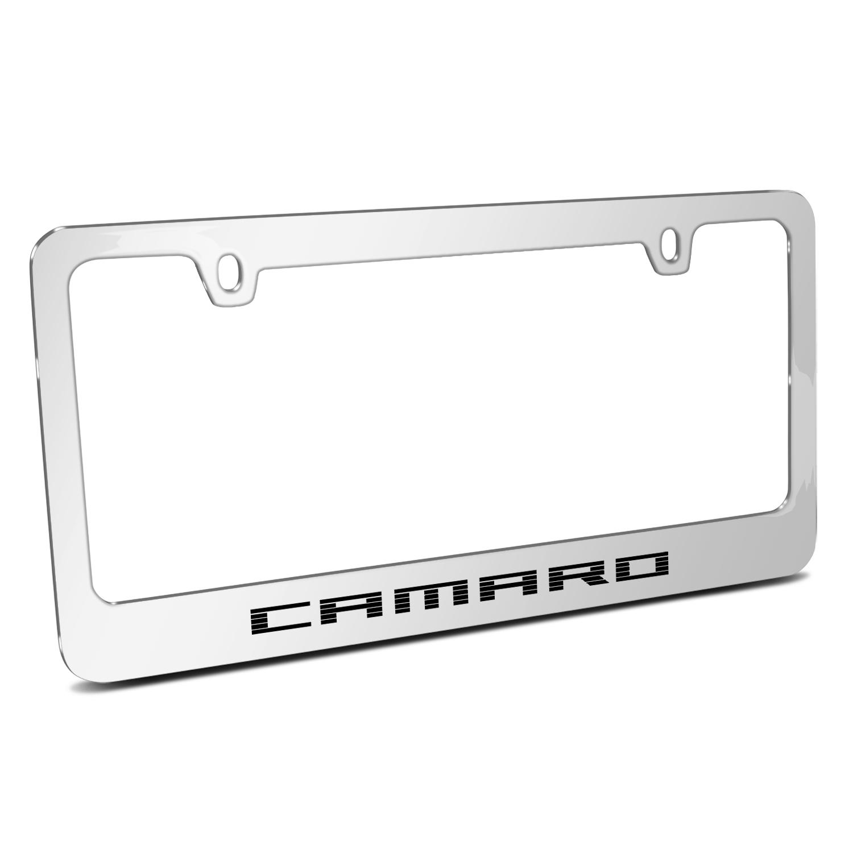 Chevrolet Camaro 2010 Speed-Line Chrome Metal License Plate Frame
