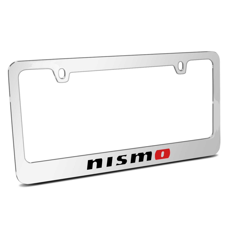 Nissan NISMO Mirror Chrome Metal License Plate Frame