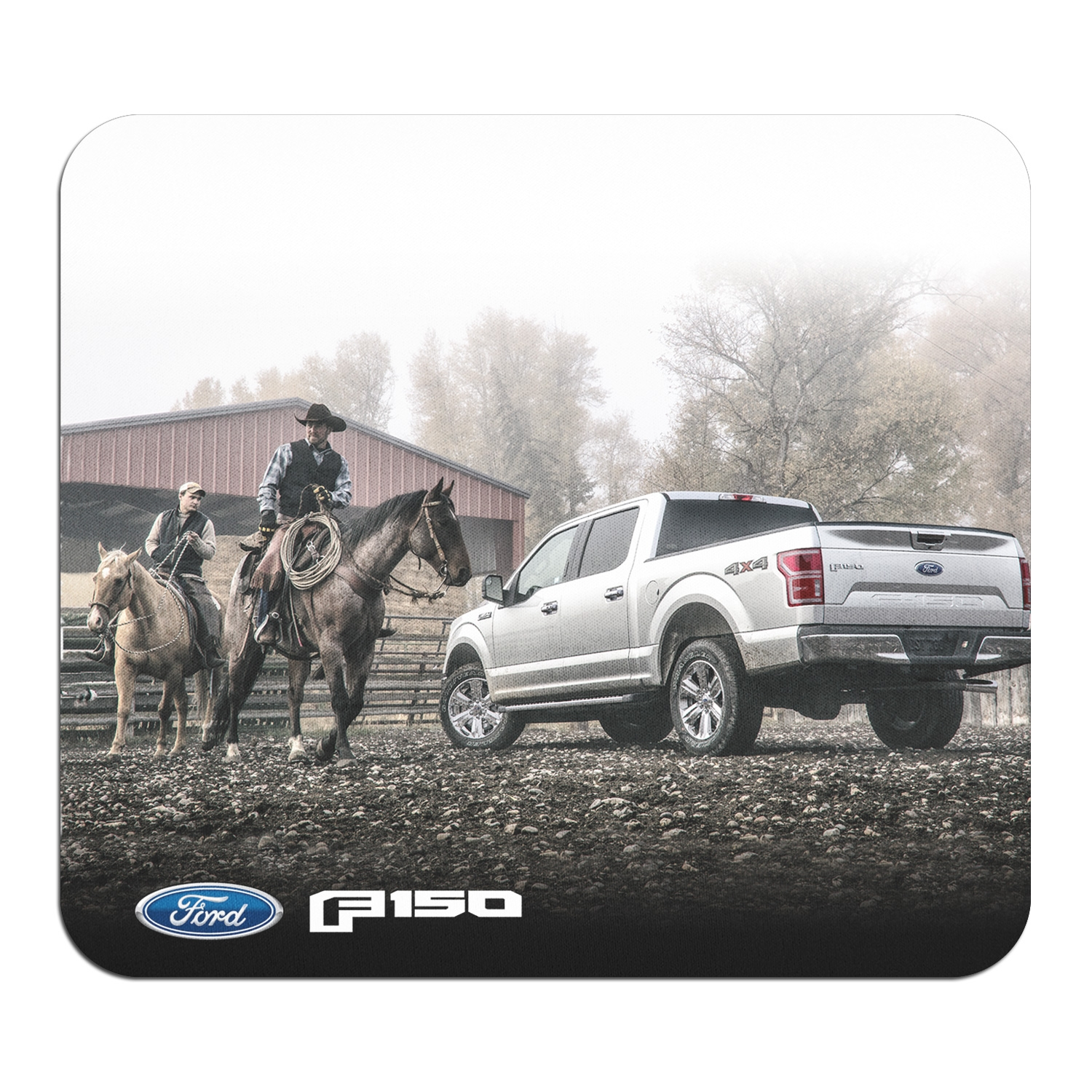 Ford F-150 Cowboys Graphic PC Mouse Pad