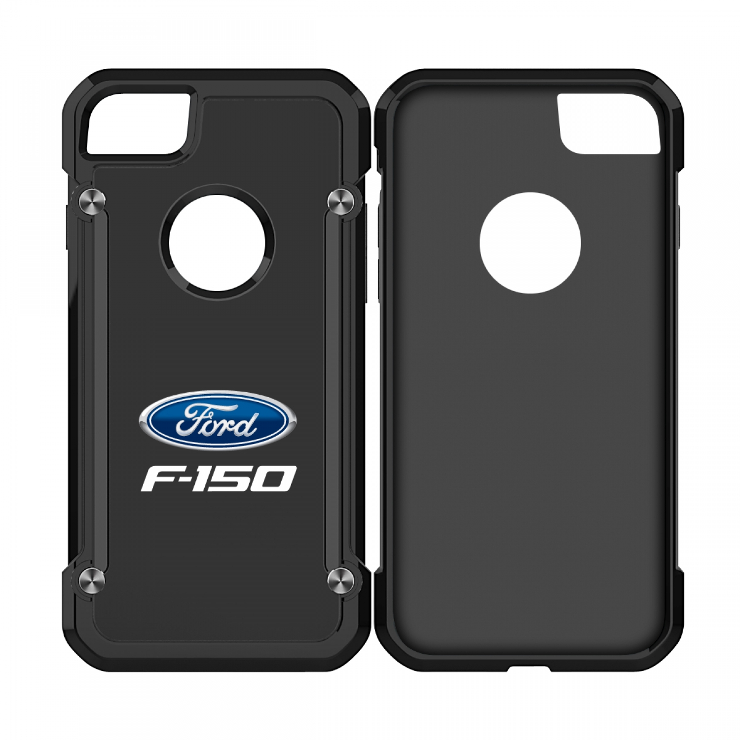 Ford F-150 iPhone 7 iPhone 8 TPU Shockproof Black Cell Phone Case