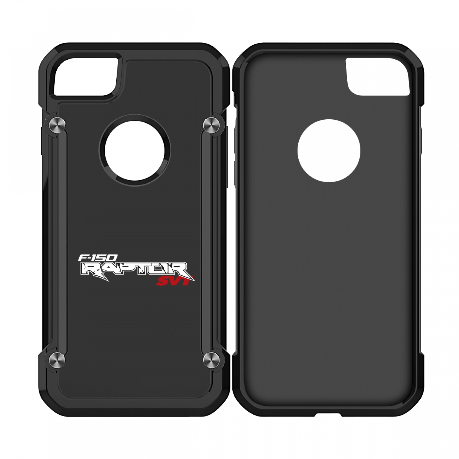 Ford F-150 Raptor SVT iPhone 7 iPhone 8 TPU Shockproof Black Cell Phone Case