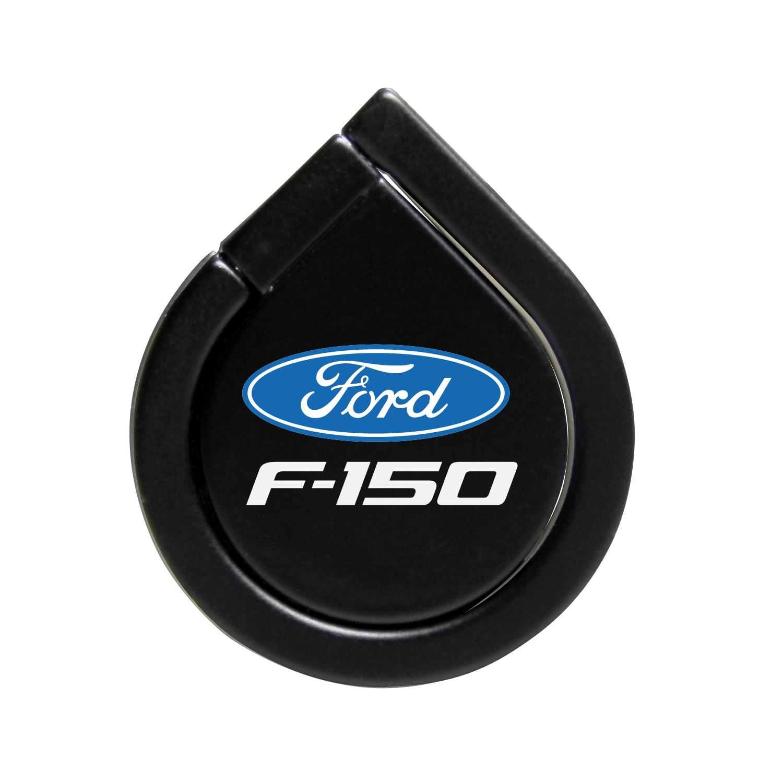 Ford F-150 Black 360 Degree Rotation Finger Ring Holder for Cell Phone