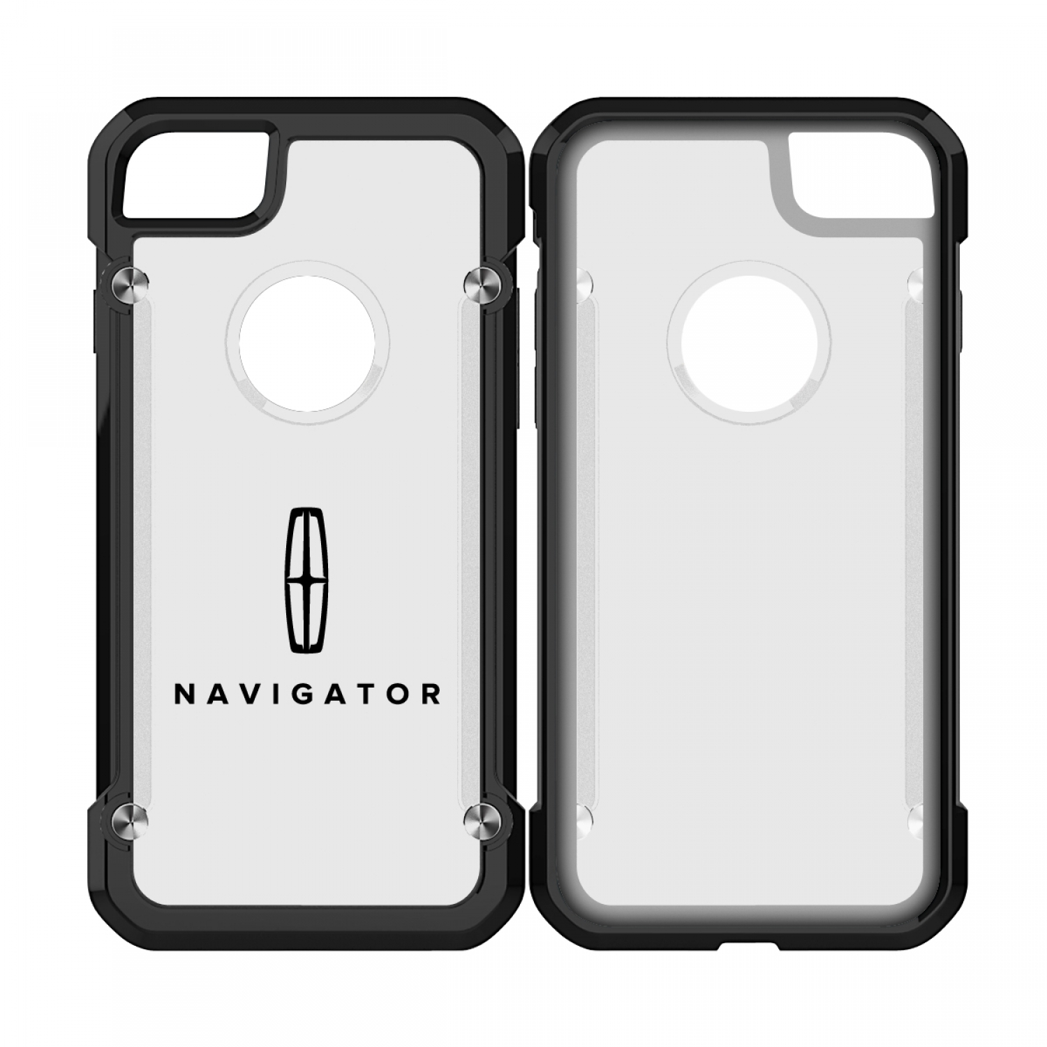 Lincoln Navigator iPhone 7 iPhone 8 TPU Shockproof Clear Cell Phone Case