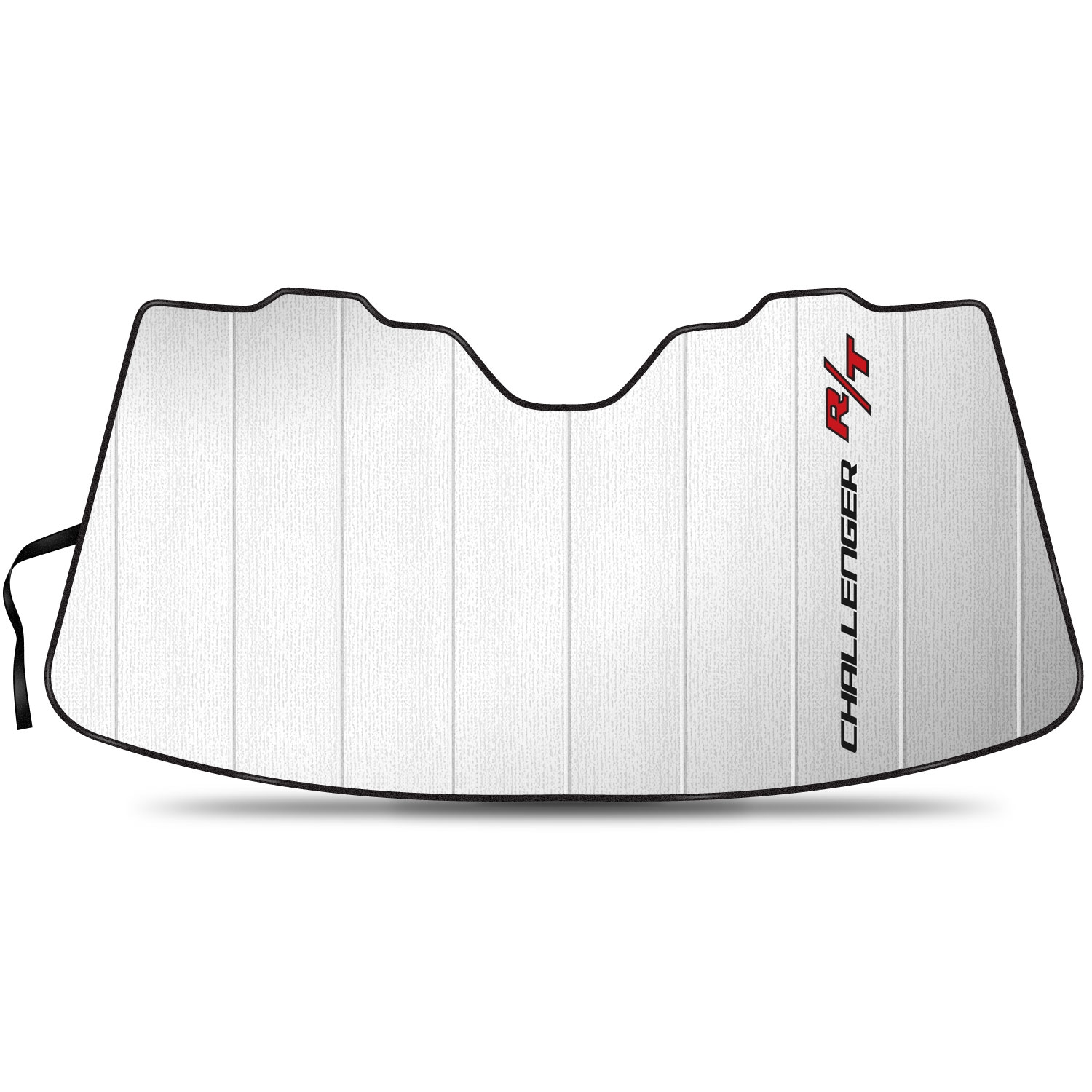 """Dodge Challenger R/T Logo 55-1/2""""x 27"""" Stand Up Universal Fit Auto Windshield Sun Shade"""