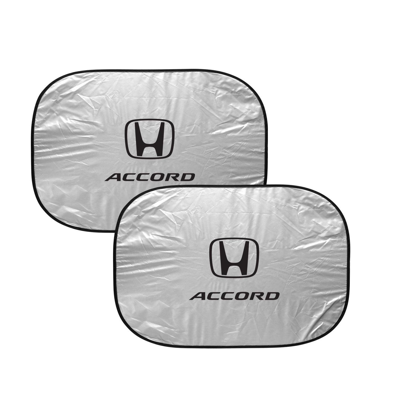 Honda Accord Dual Panels Easy Folding Windshield Sun Shade for Cars and Small SUVs