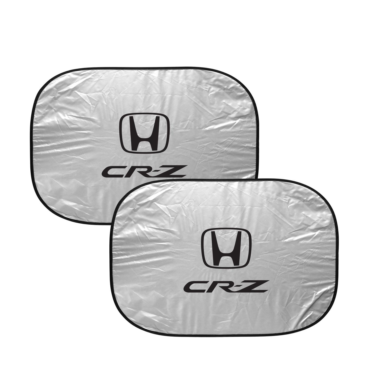 Honda CR-Z Dual Panels Easy Folding Windshield Sun Shade for Cars and Small SUVs