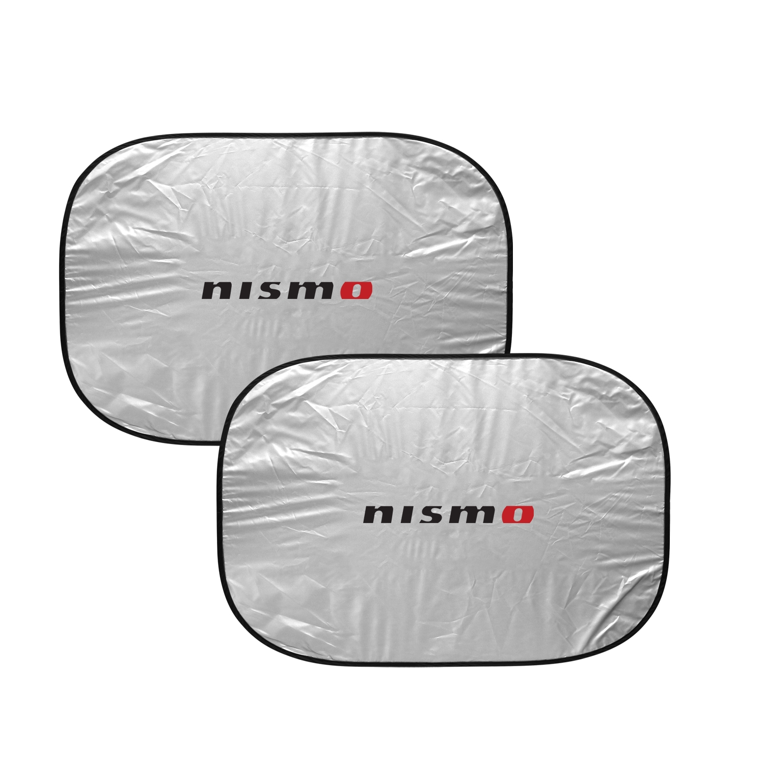 Nissan NISMO Dual Panels Easy Folding Windshield Sun Shade for Cars and Small SUVs