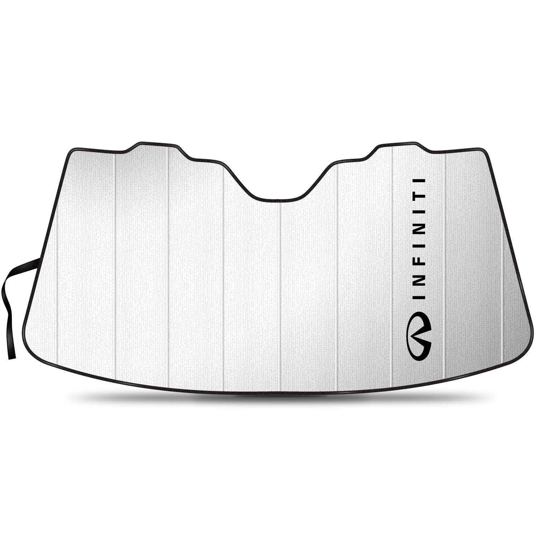 INFINITI Logo Large Size Stand Up Universal Fit Auto Windshield Sun Shade