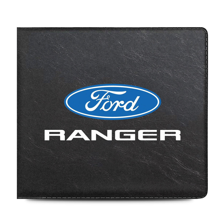 Ford Ranger Car Auto Insurance Registration Black PVC Document Holder Wallet