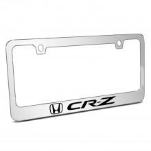 Honda CR-Z Mirror Chrome Metal License Plate Frame